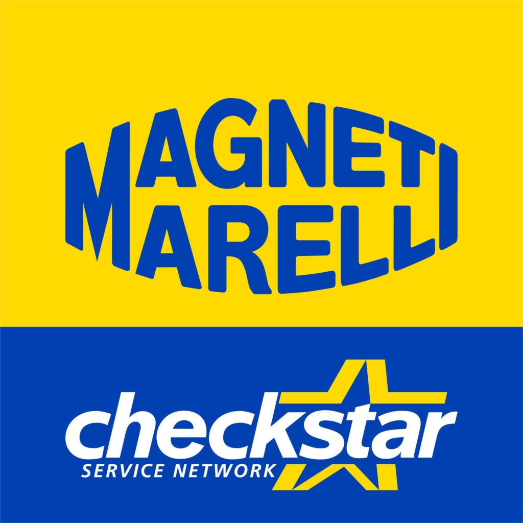 Logo Magneti Marelli - Pièces italiennes checkstar